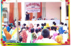 AICBCBM disability awareness camp in a rural area Koshambi