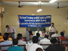 AICB Vice President Dr. Anil Aneja Addressing the participants in a national seminar