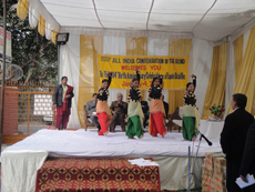 Kathak performance by AICB students