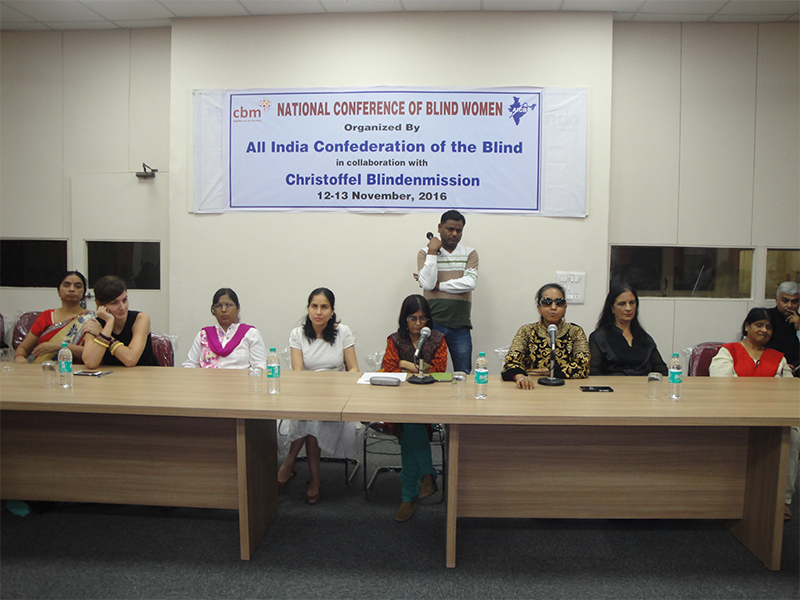 Ms. Madhu Bala Sharma—left to right fourth, Dr. Renu Addlakha—left to right fifth, Ms. Preeti Monga—right to left second, Ms. Anjalee Arora—right to left third